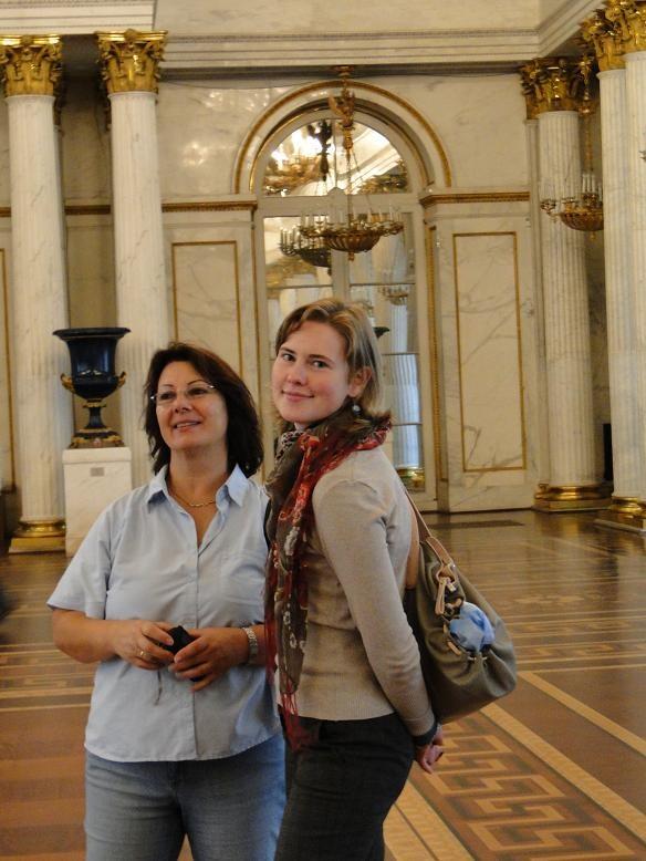 Mit Anja im   Winterpalast