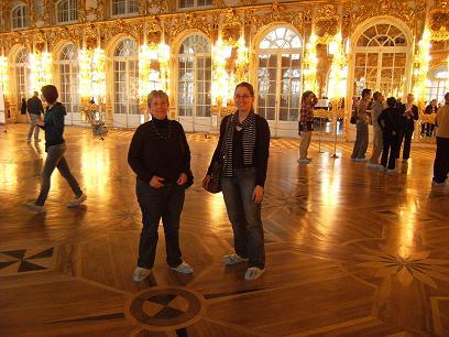 Im   Katharinenpalast mit Olga