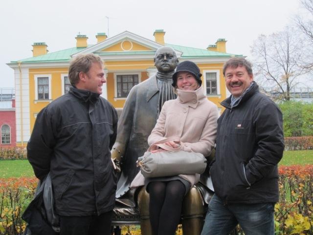 mit Anja und Peter   I