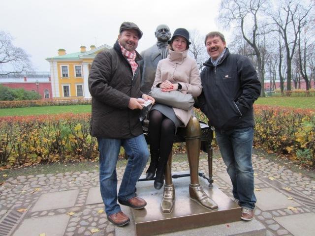 Peter-Pauls-Festung   mit Anja