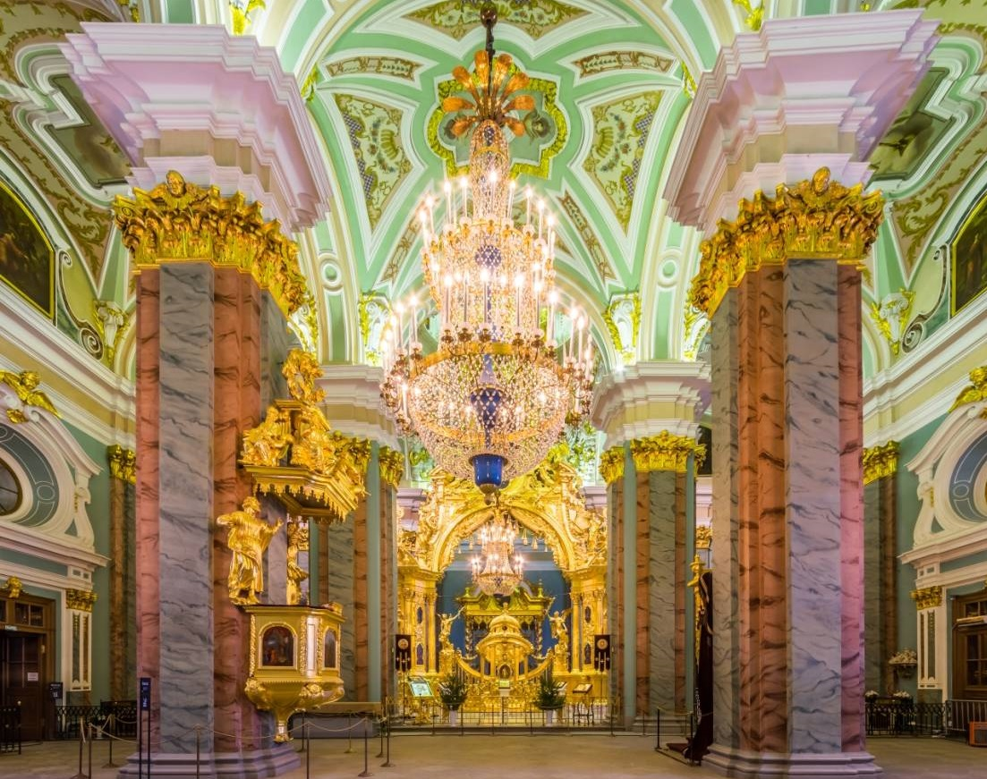 Peter-Pauls-Kathedrale der Festung
