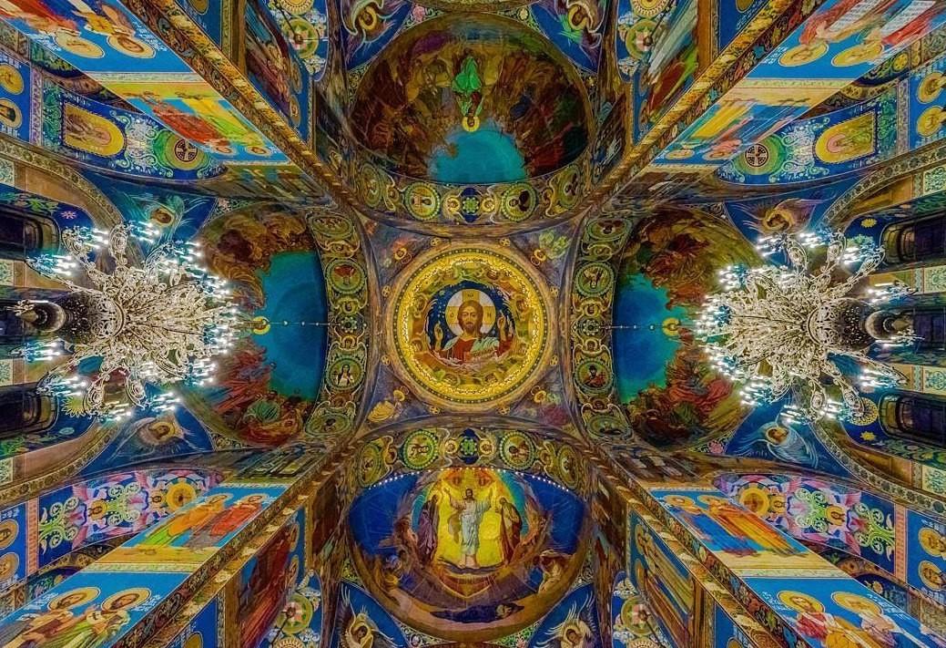 7000qm Mosaiken in der Blutskirche