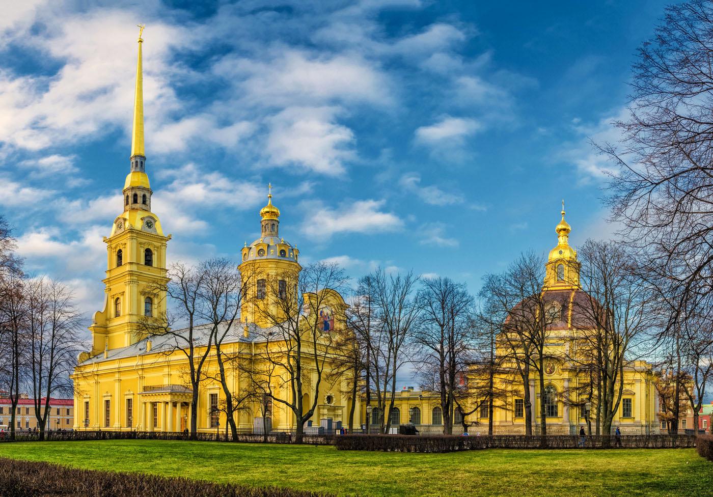 Peter-Pauls-Kathedrale und Grossfuehrstengruft