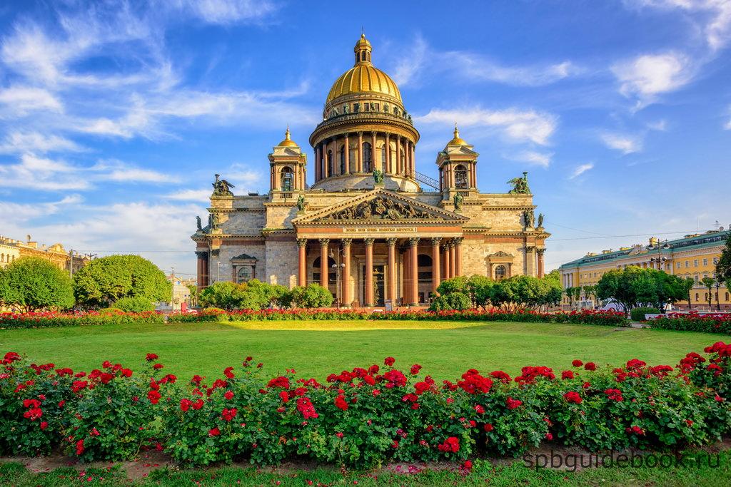 Isaakskathedrale - der vierthoechste Kuppelbau Europas